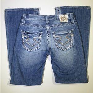 Big Star   Maddie Boot Cut Blue Jeans Mid Rise 25S